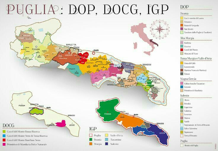 Puglia Wine Region Map Italy Wine Pinterest Italian Wine Wine