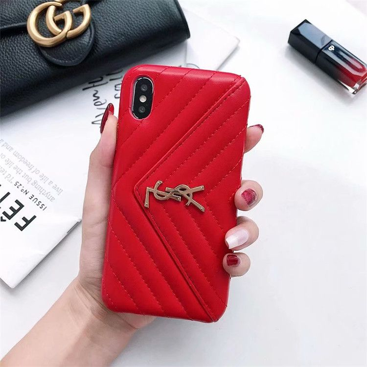 2394 classic lattices ysl leather back covers soft cases