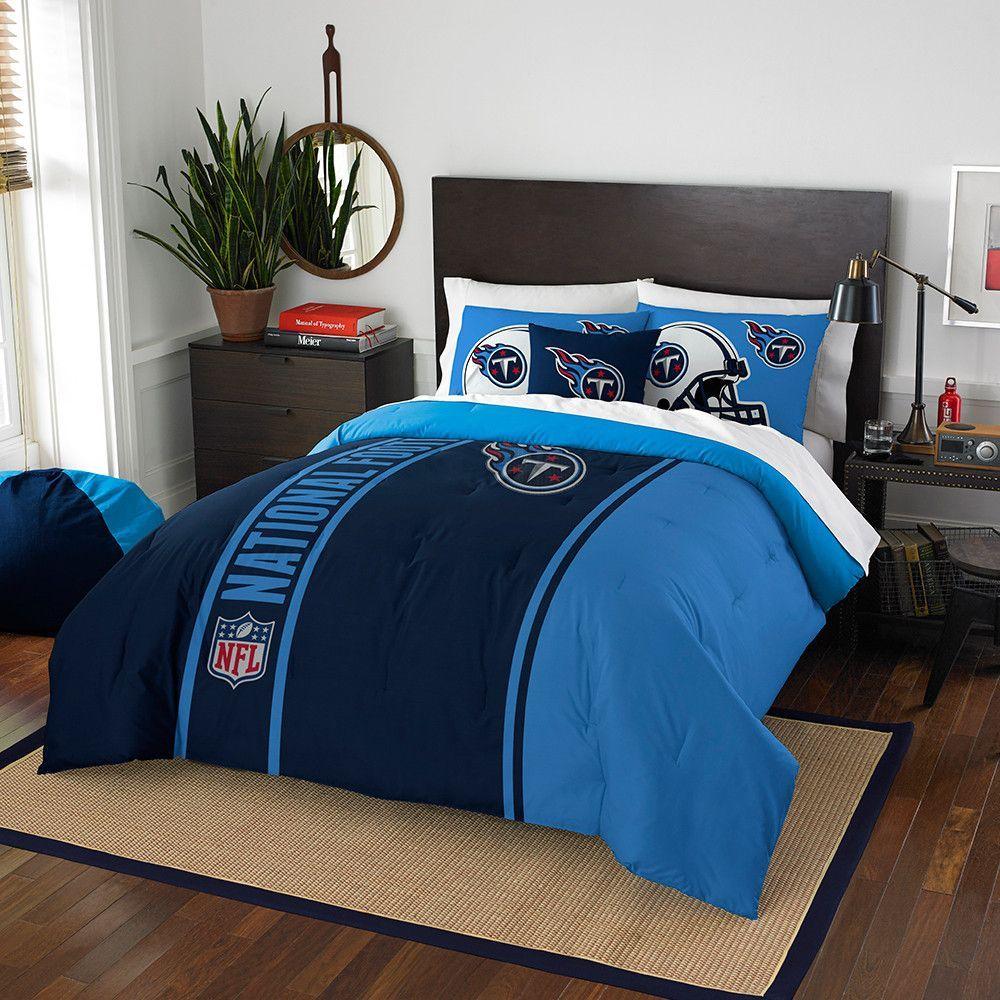 Tennessee Titans Nfl Full Comforter Set Soft Cozy 76 X 86