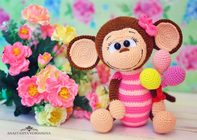 Amigurumi Monkey Pattern Free : Amigurumi monkey free pattern amigurumi free patterns