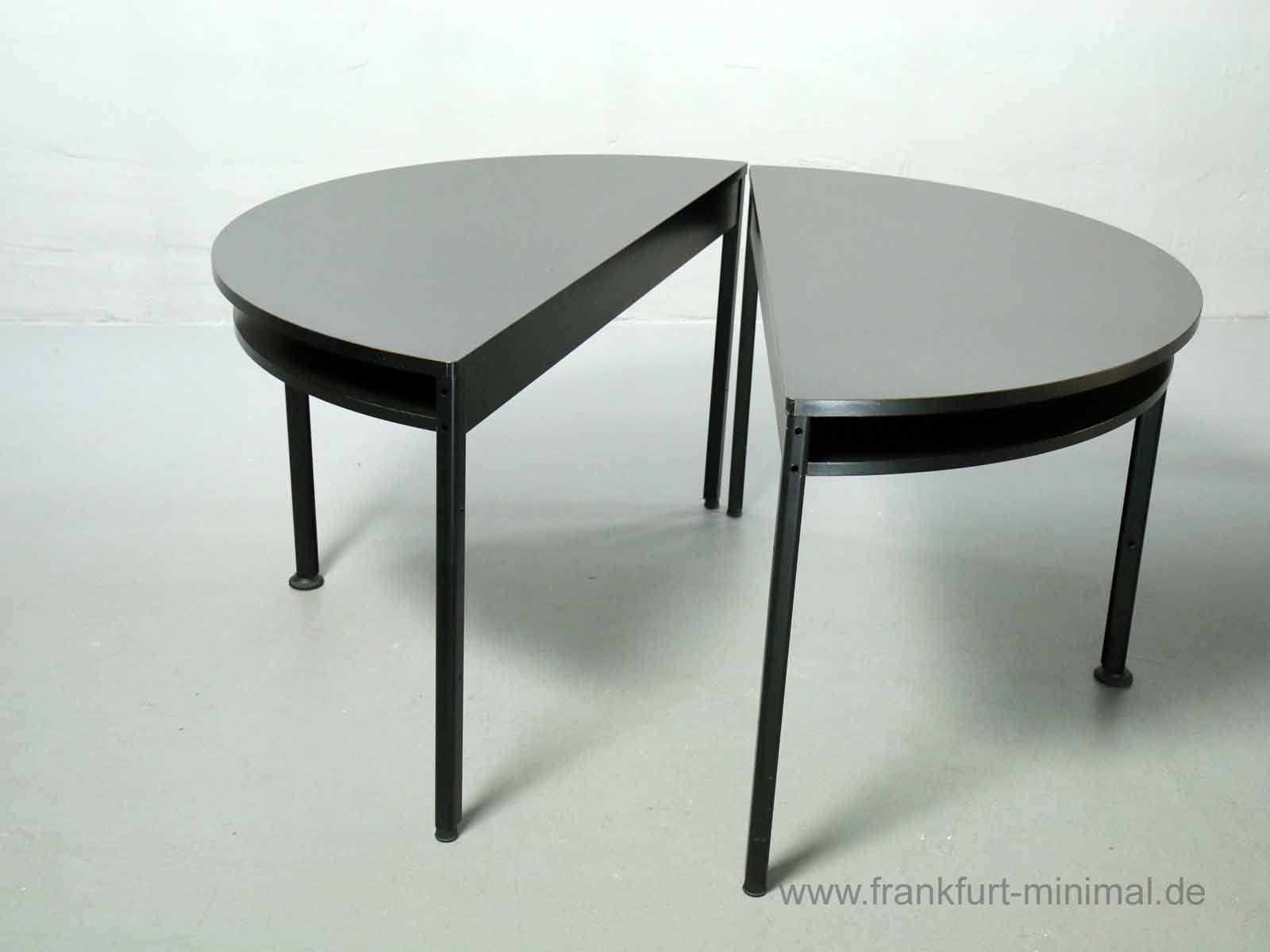 Halbkreistisch Tischprogramm 570 Dieter Rams Vitsoe
