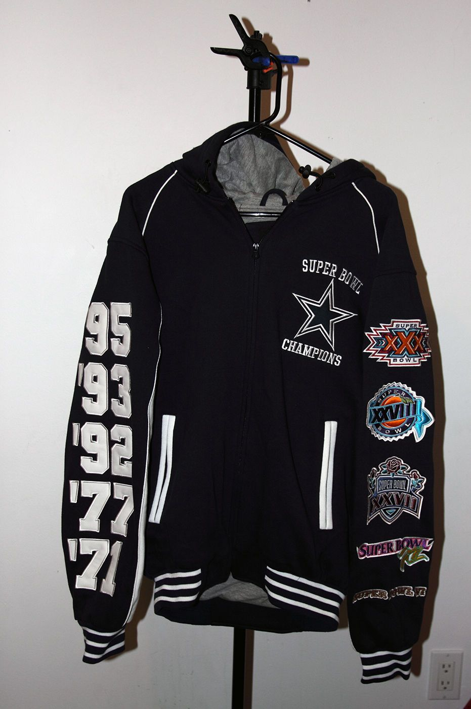 Dallas Cowboys 5 time superbowl jacket  44be25003