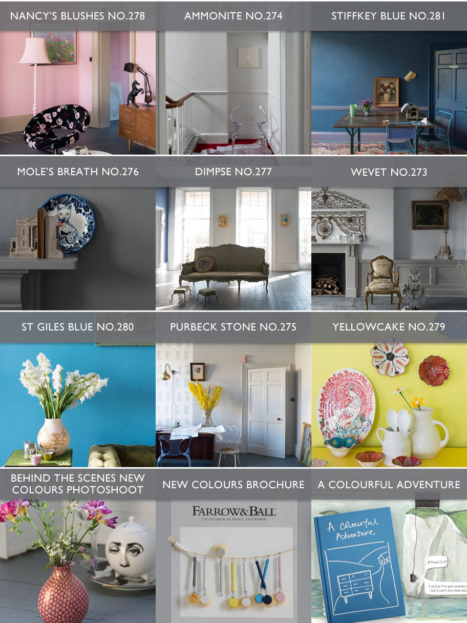 Farrow & Ball - Manufacturers of Traditional Papers and Paint - new ...
