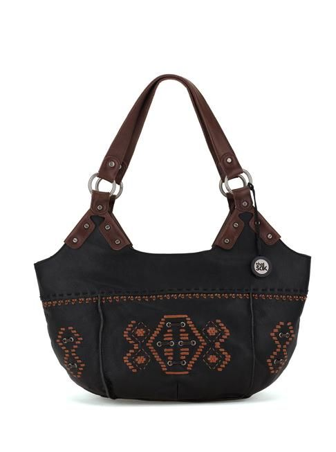 A smaller version of our best selling Indio tote, the satchel is the perfect size for any shape featuring our soft leather fun colors and embellishments.