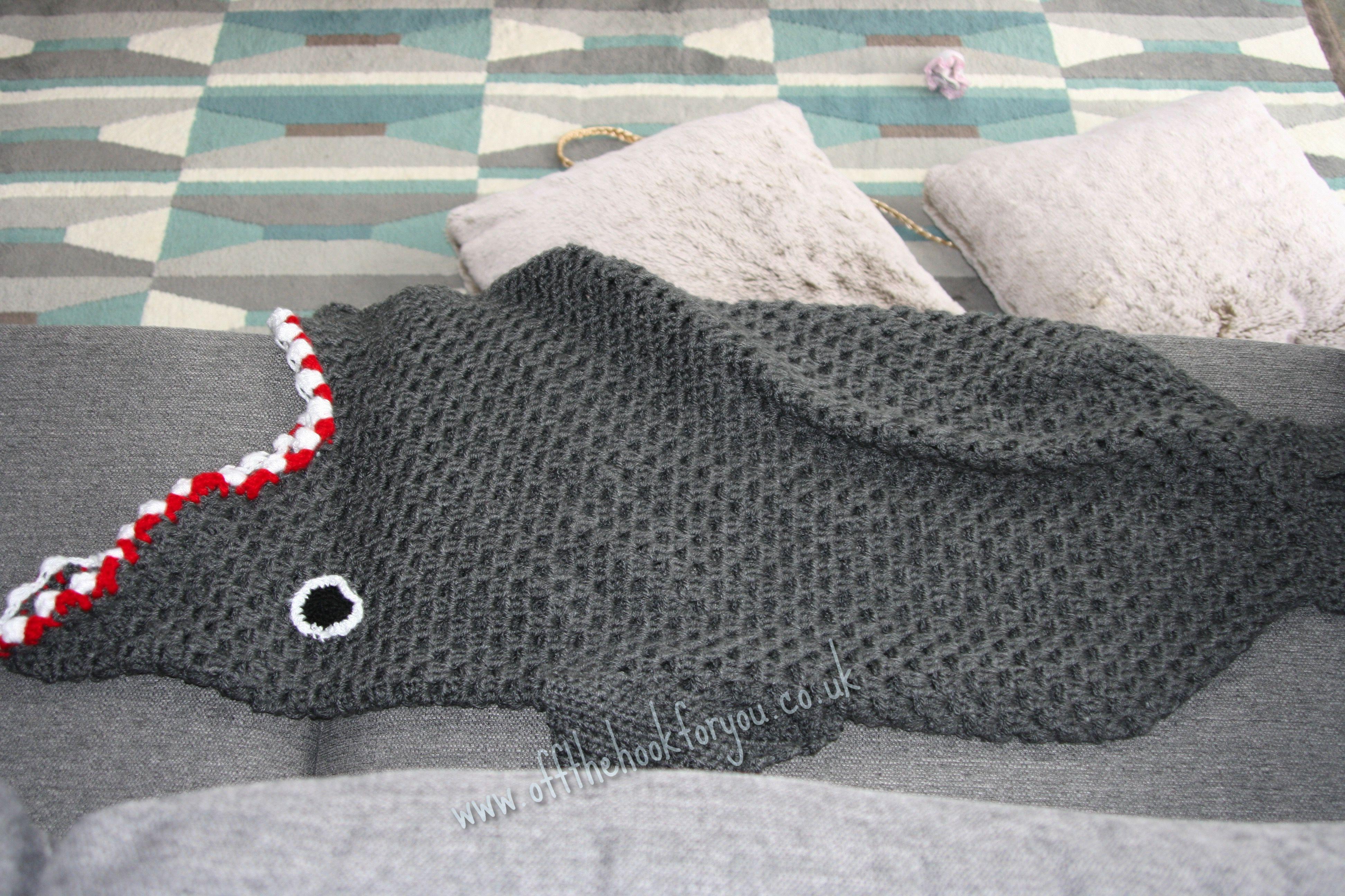 Eaten by a Shark - The pattern from offthehookforyou ...