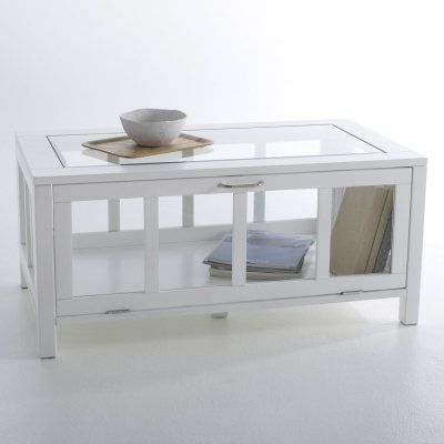 Table Basse Vitrine Rectangulaire INQALUIT La Redoute - La redoute table basse pour idees de deco de cuisine