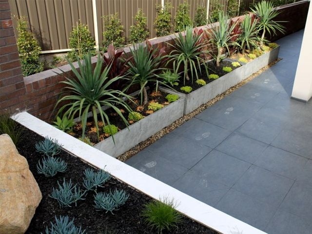 how to make concrete planters lightweight