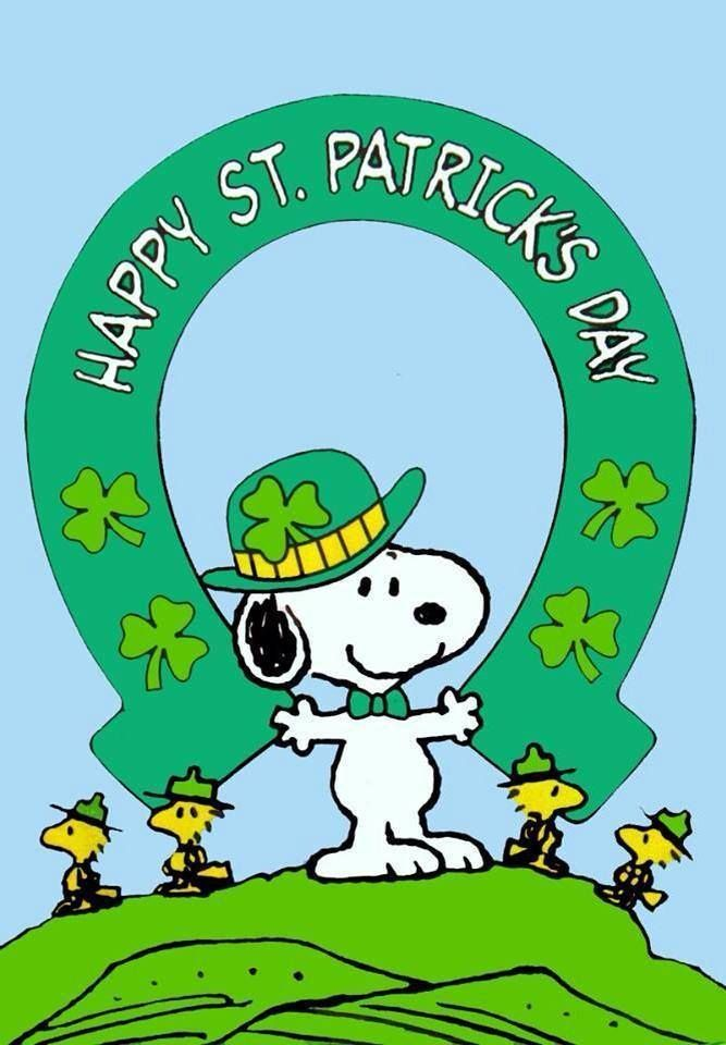 Holidays Thanksgiving Christmas And Others Snoopy Pictures St Patricks Day Pictures Happy St Patricks Day