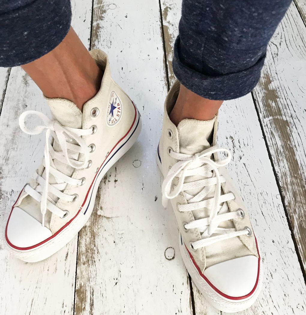 DIY: (witte) Converse All Stars schoonmaken   llianne.com ...