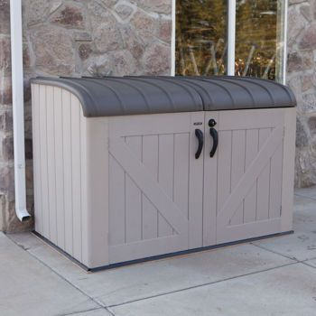 Garden Sheds Costco this could be good for the bikes, and we could keep it on the back