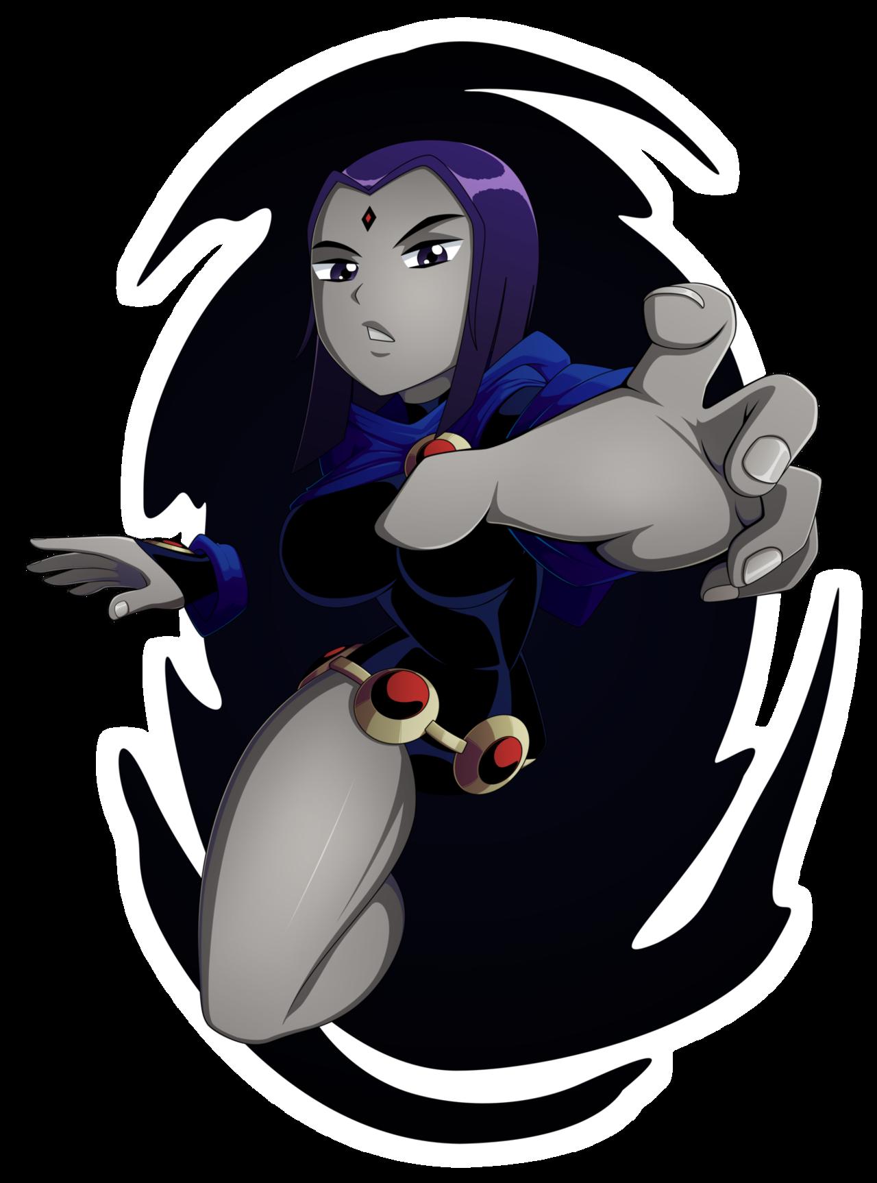 #SixFanarts - Raven by ShonGreen on Newgrounds