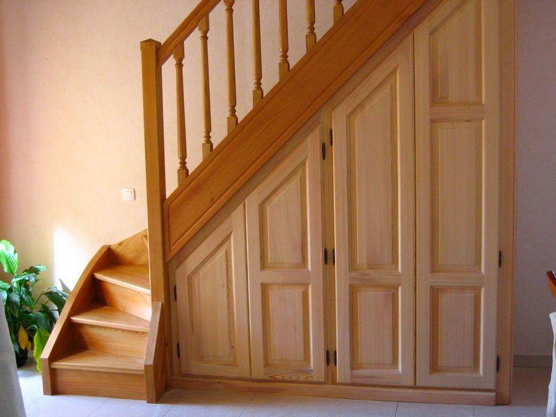 04 04 escalier 1 4 tournant avec contre marche espace bois dessous escalier pinterest. Black Bedroom Furniture Sets. Home Design Ideas