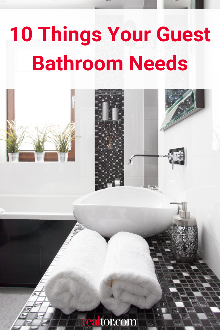 10 Things Your Guest Bathroom Needs Do You Have Them All Guest Bathroom Bathroom Checklist Guest Bathrooms