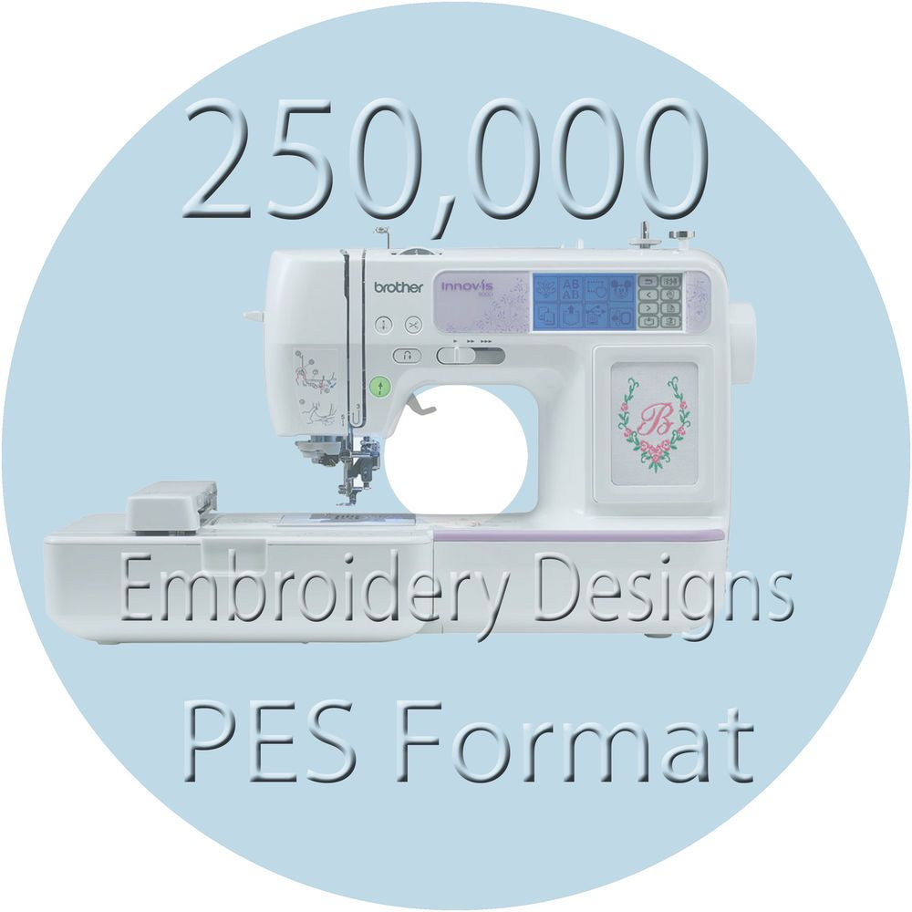 Embroidery designs pes files brother machine