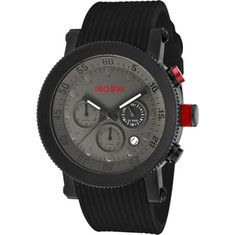Click Image Above To Buy: Red Line - 18101vd-014bk-bb (men's) - Black Silicone/grey