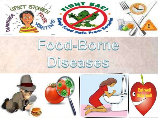 Commonly known as food poisoning, food borne illness is caused by - food poisoning duration