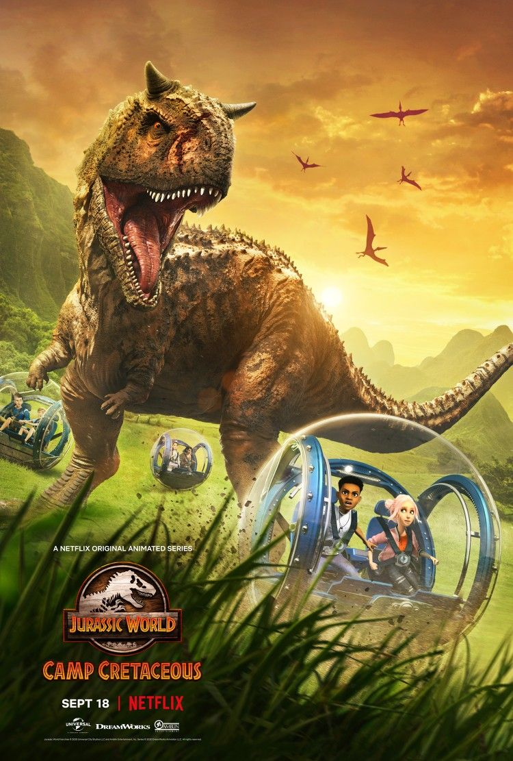 Pin By Zzaa Diego On Jurassic World Camp Cretaceous Jurassic World Poster Jurassic World Dinosaurs Jurassic World