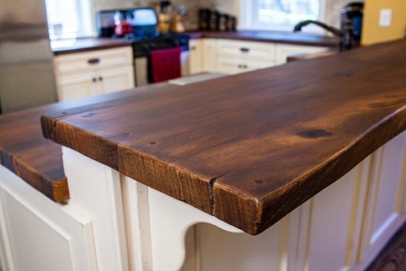 Concrete Countertop Made To Look Like Wood This Is A Beautiful