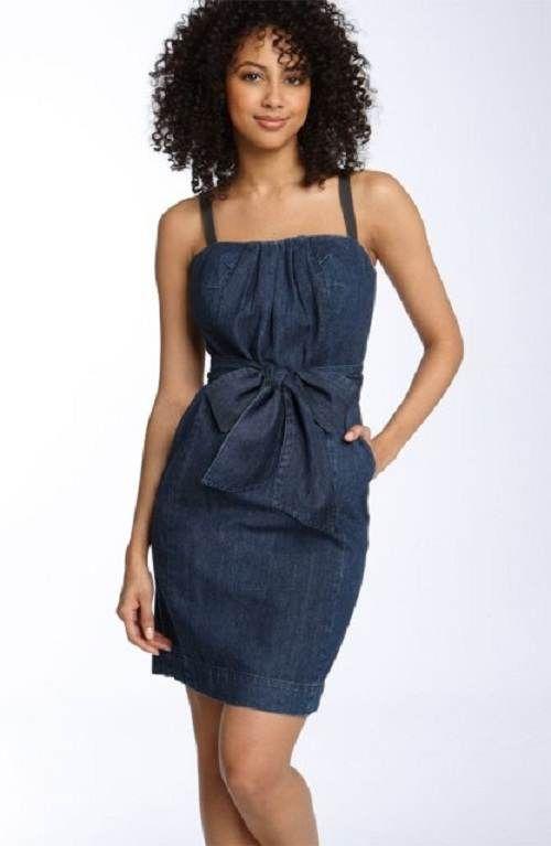 7bc511059f vestidos elegantes de jean