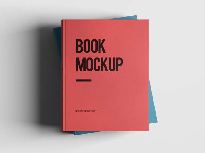 26 Free Book Cover Mockup PSD Templates | Book cover ...