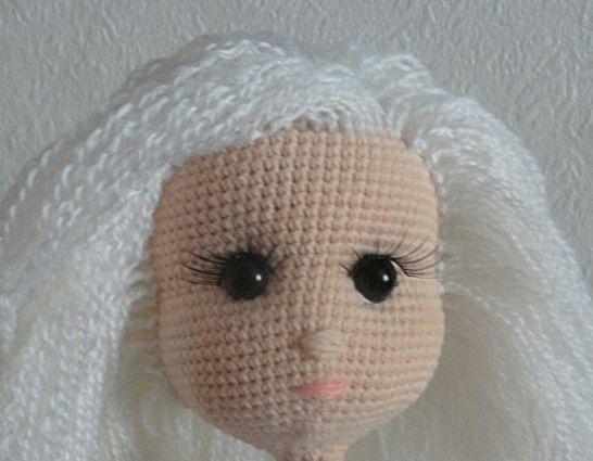 как сделать волосы для вязаной куклы мк Izrada Rucnih Radova Od