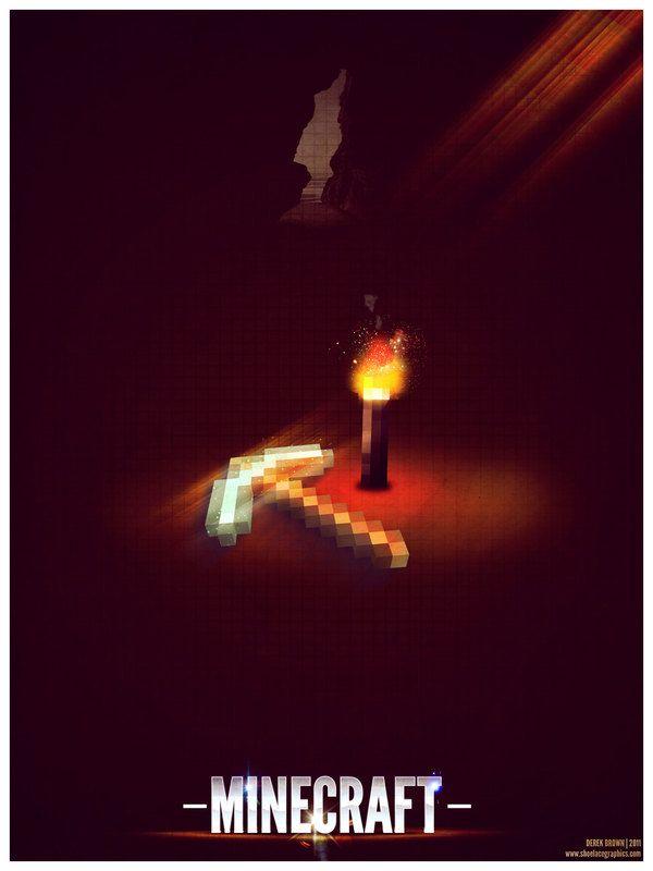 Minecraft Poster & Wallpapers by Derek Brown