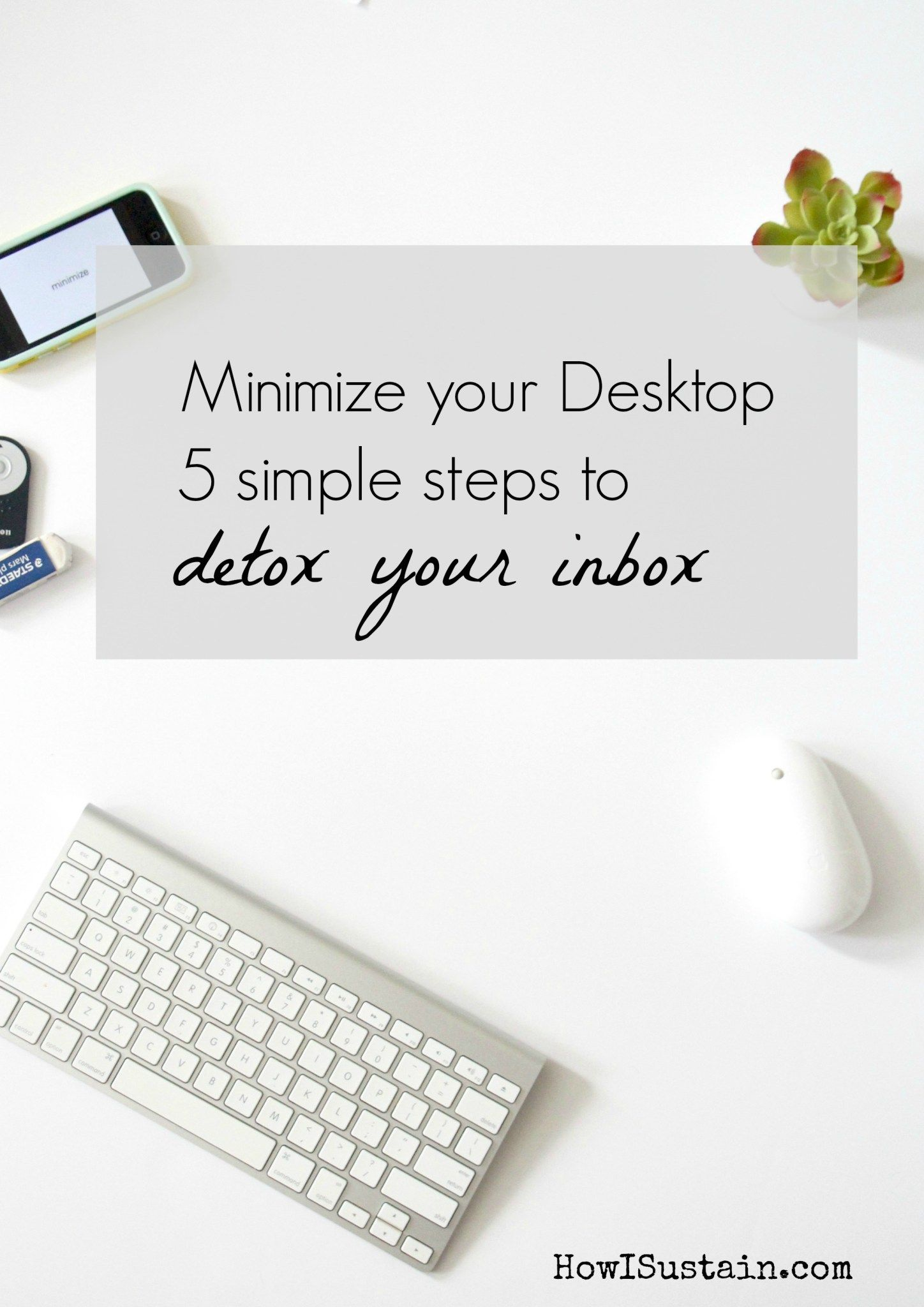 5 simple steps to clean up your email inbox