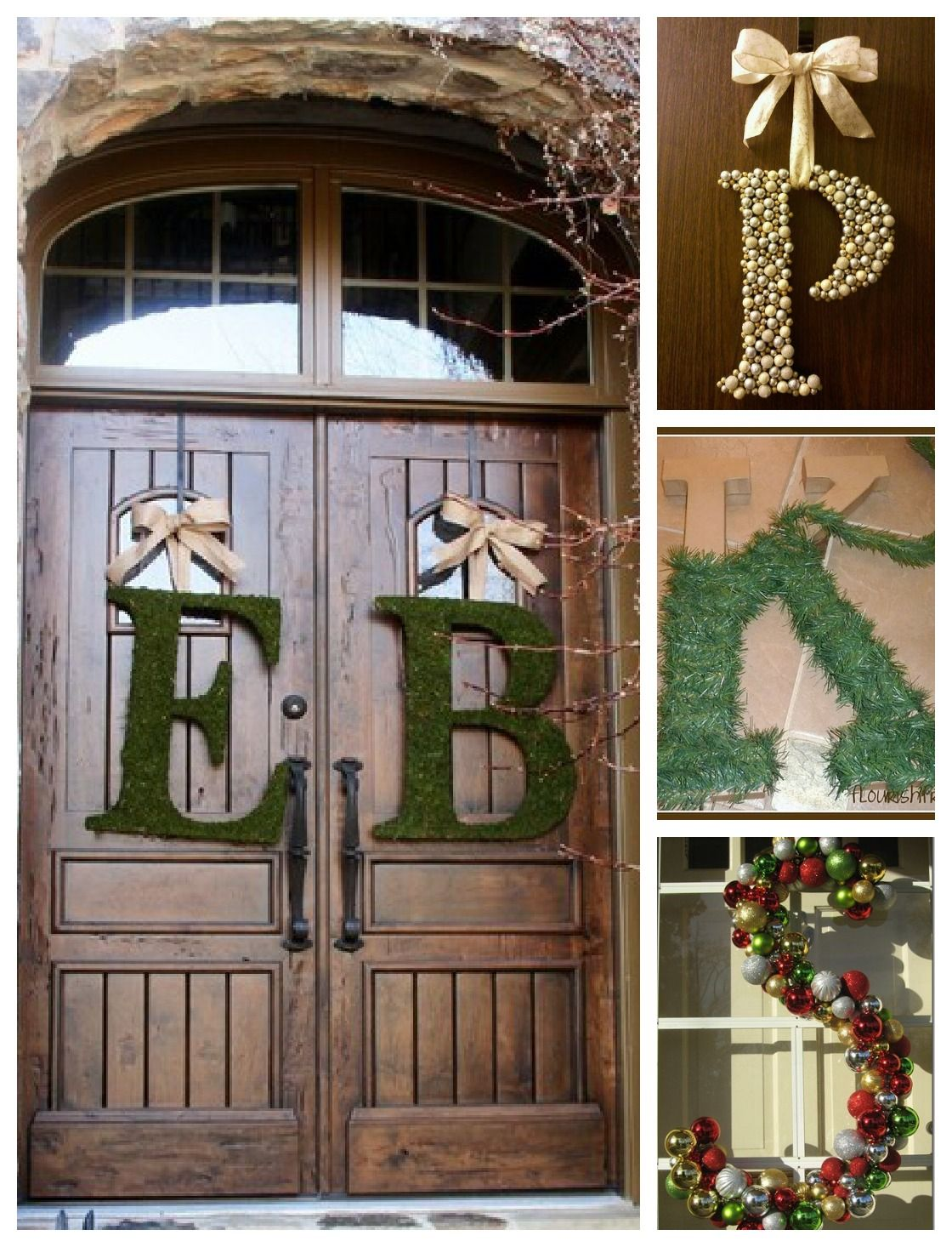 Last minute diy wedding decorations  My Kinda Happy Cute Wreaths and Last Minute Christmas Gifts and