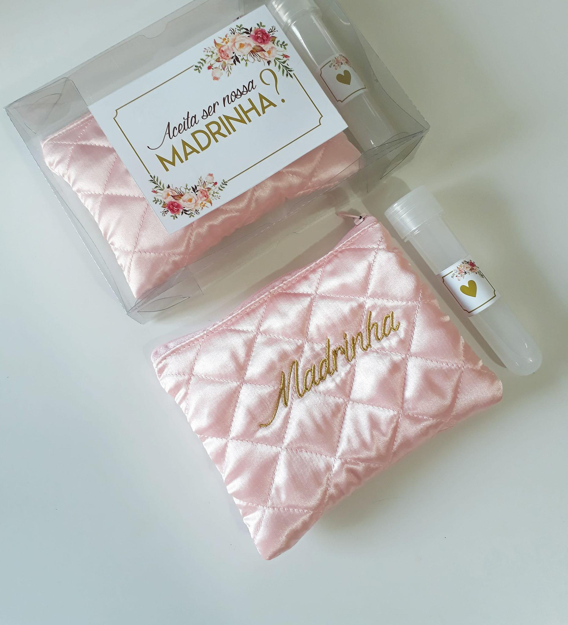 1cf48da9eb8599 Kits Baratos para Presentear Madrinhas!! Kit presente para convite ...