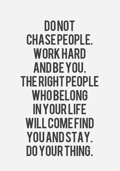 Dont Chase Be Chosen Inspirational Quotes Quotes Inspirational