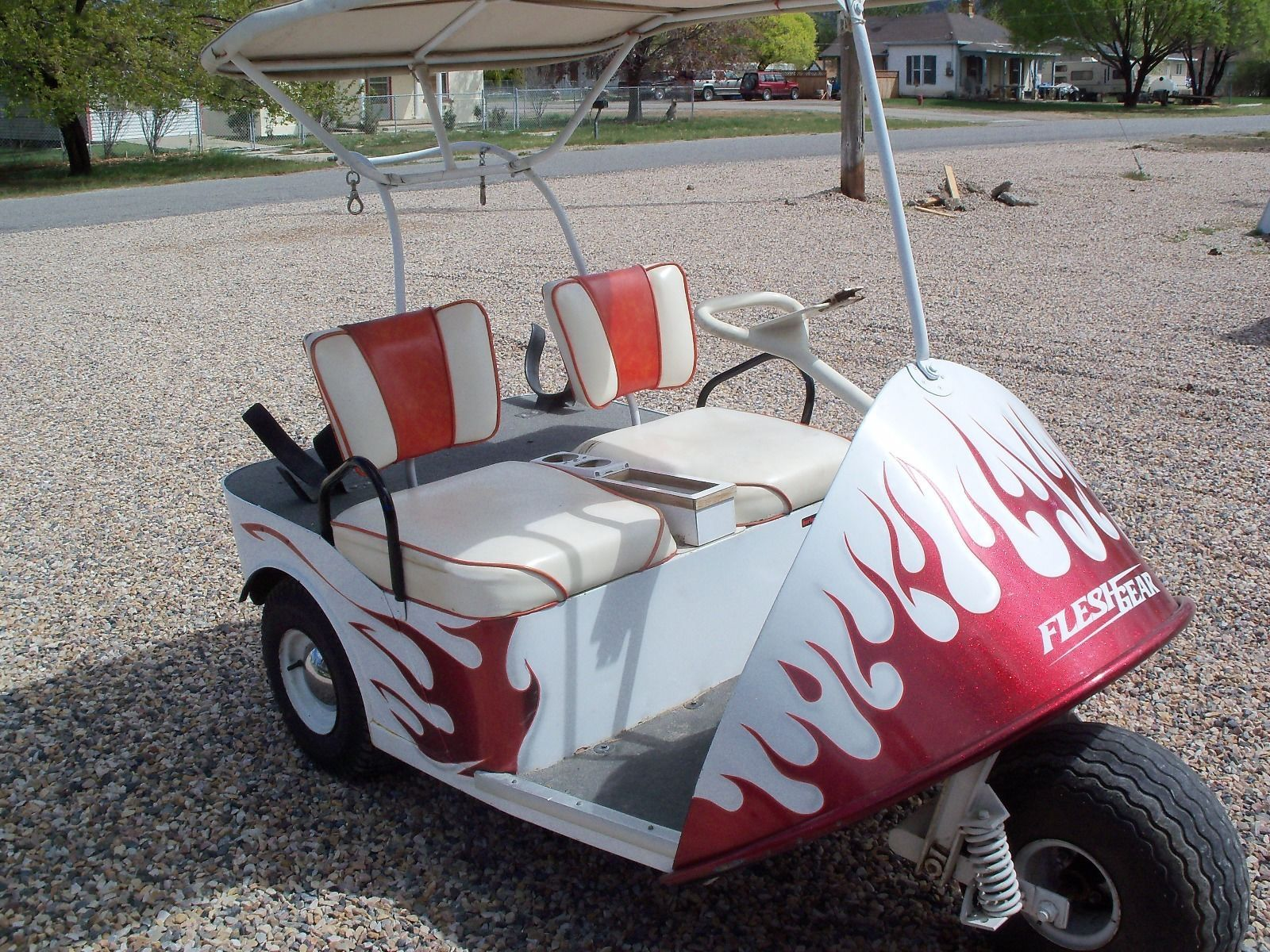 Vintage 1967 Thunder bird golf cart | Golf carts for sale ... on car electric volkswagen, car electric chrysler, car battery cart, car electric fan, car electric car, car electric chevrolet,