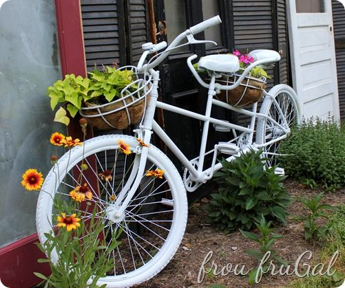 Bicycle Planter Built For Two   Frouu2022fruu2022gal: [froo Froo U0027GAL]
