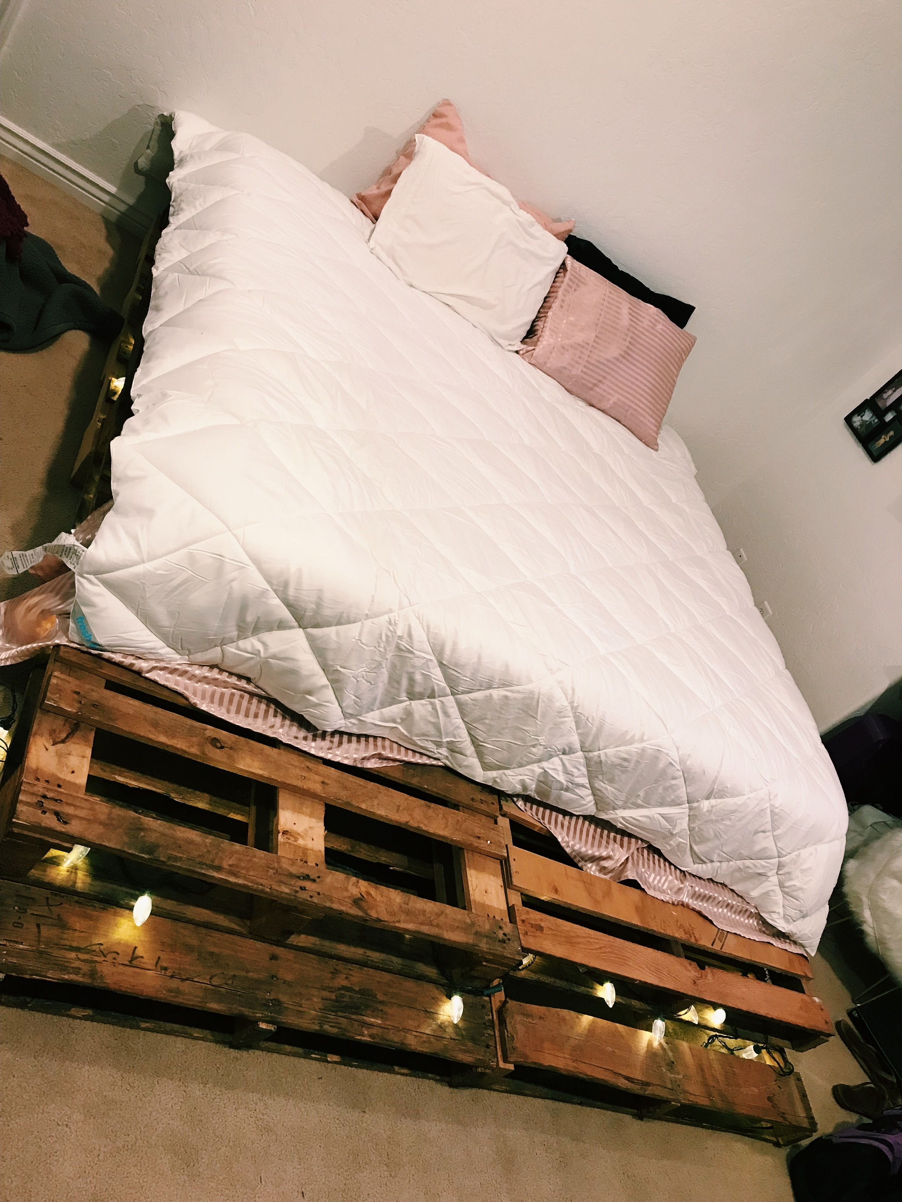 Find a local add on Craigslist that offers free pallets