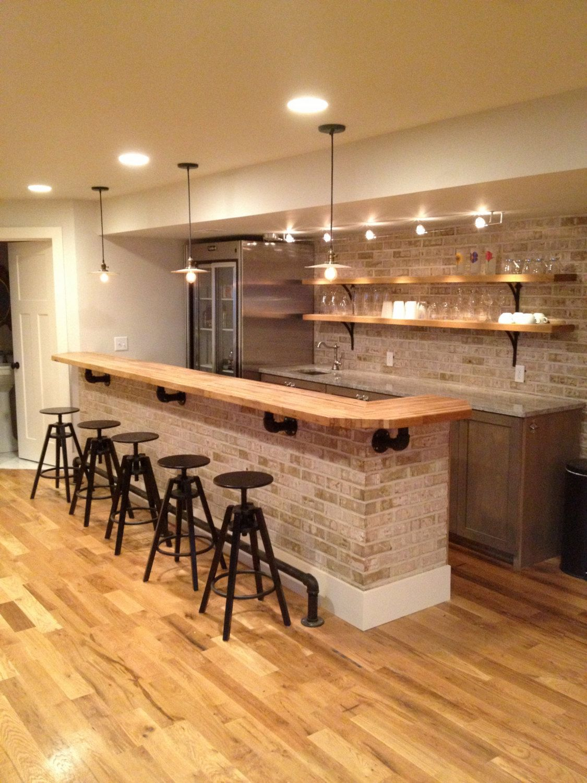 Encimeras De Bloque De Carnicero Etsy Kitchen Remodel Countertops Basement Bar Designs