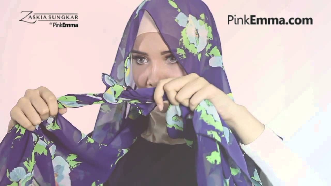 Tutorial Hijab Pashmina Zaskia Sungkar By Pinkemma