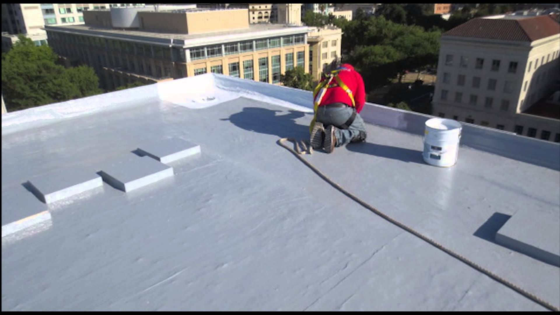 Get Latest Modified Bitumen Membrane Service By Fields Roof Service Roofing Services Roof Coating Roof