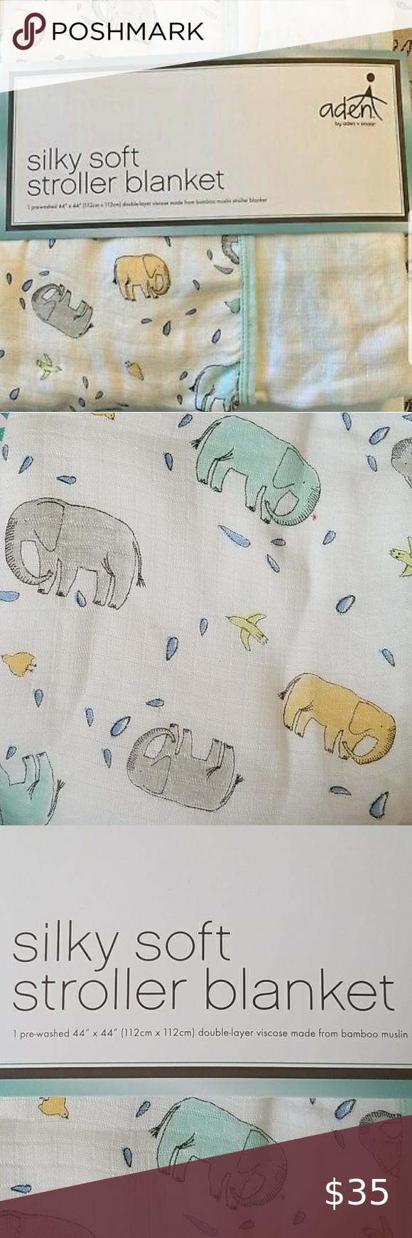aden by aden anais Baby Blanket Ellie Parade