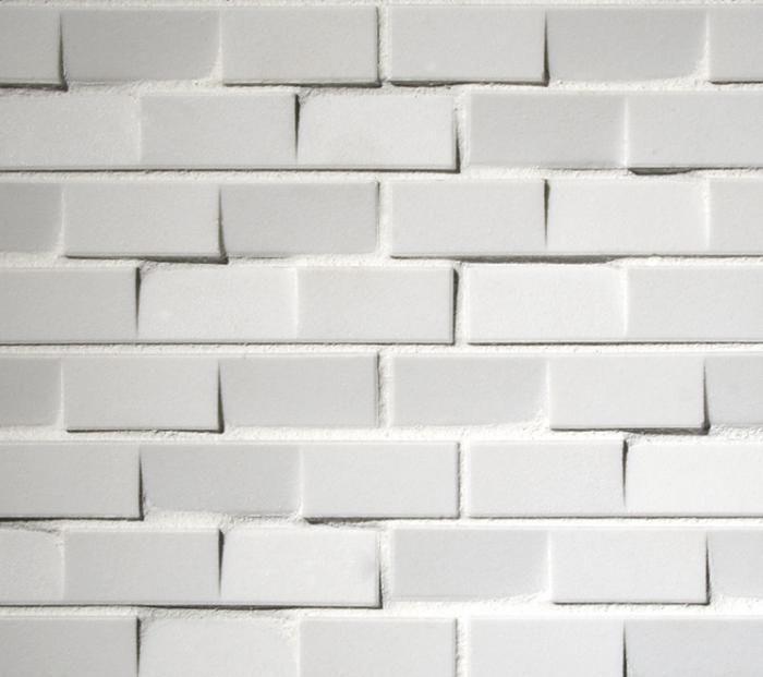 jagged tile white tile backsplash