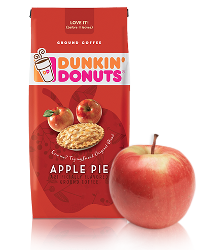 Apple Pie Flavored Coffee Dunkin' Donuts Coffee Dunkin