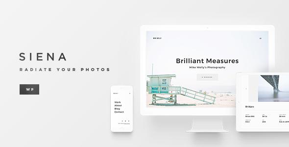 Siena - Aesthetic Photography Portfolio Theme for WordPress