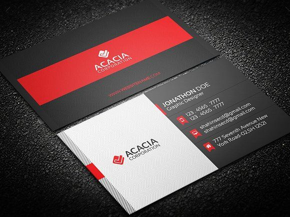 Modern business card business cards card templates and unique modern business card accmission Image collections