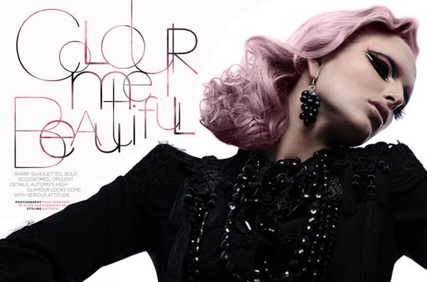 Colour me Beautiful by Kattaca, via Behance