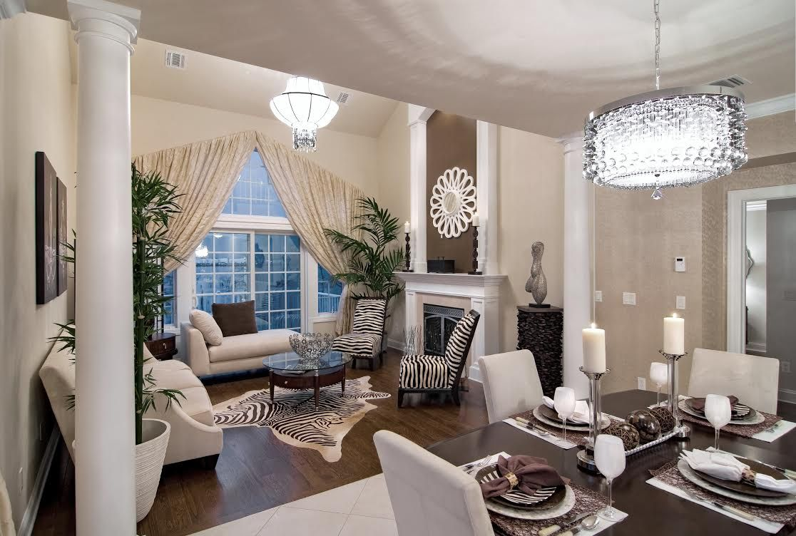 pictures of model homes interiors