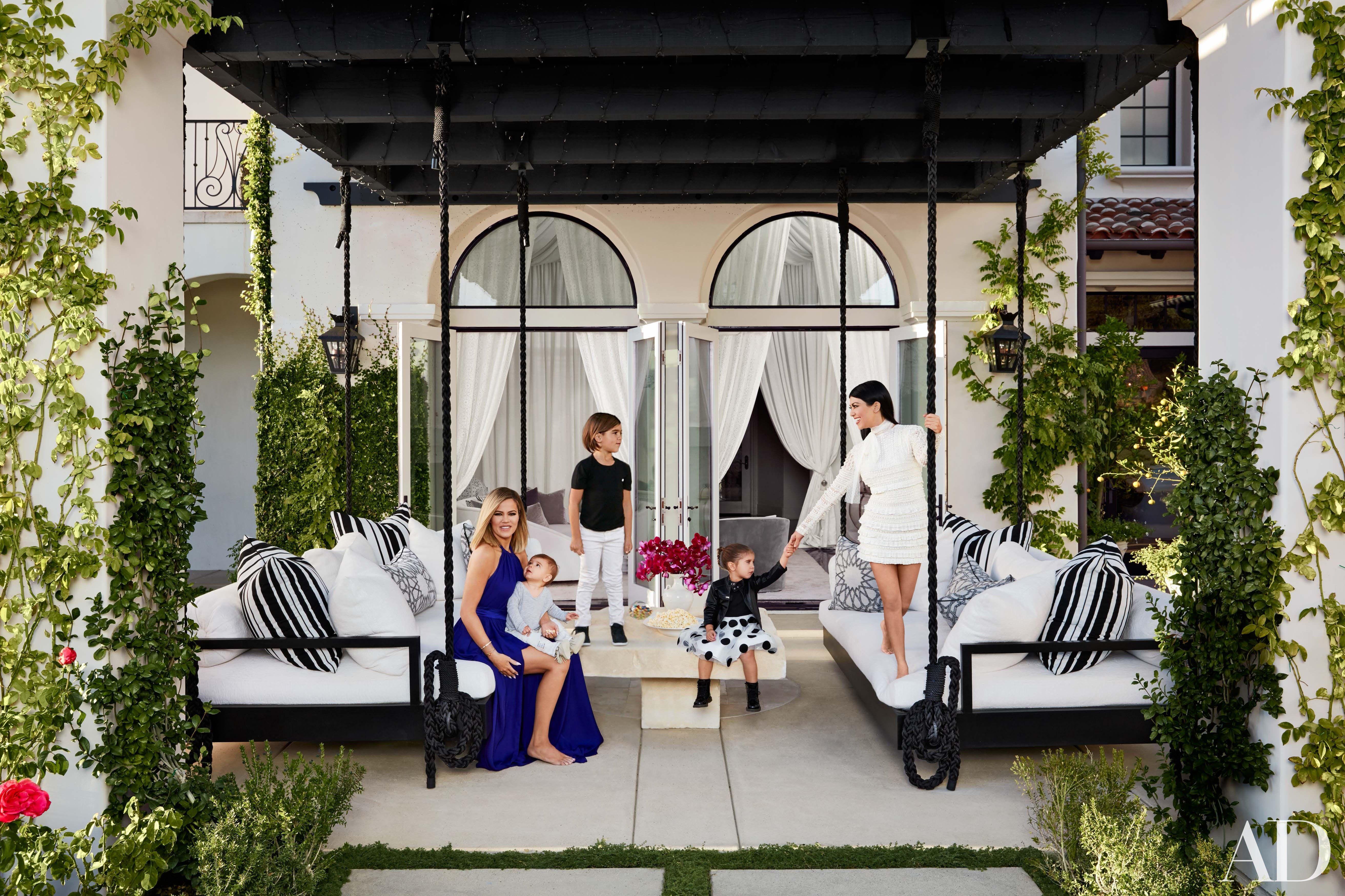 khloé and kourtney kardashian realize their dream homes in