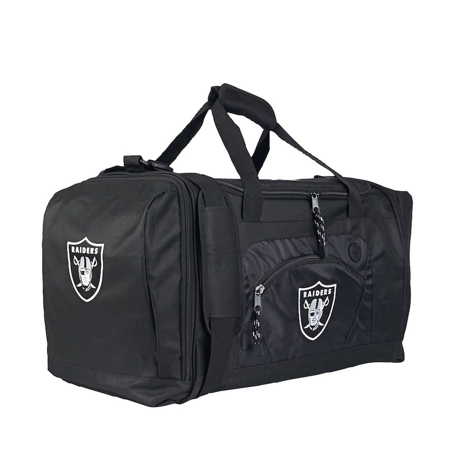 Northwest Oakland Raiders Roadblock Duffel Bag, Team