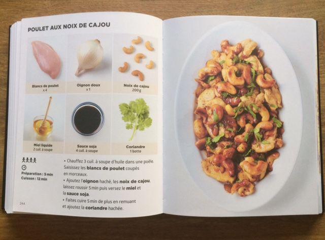 Poulet au noix de cajoux simplissime cuisine for Simplissime livre cuisine