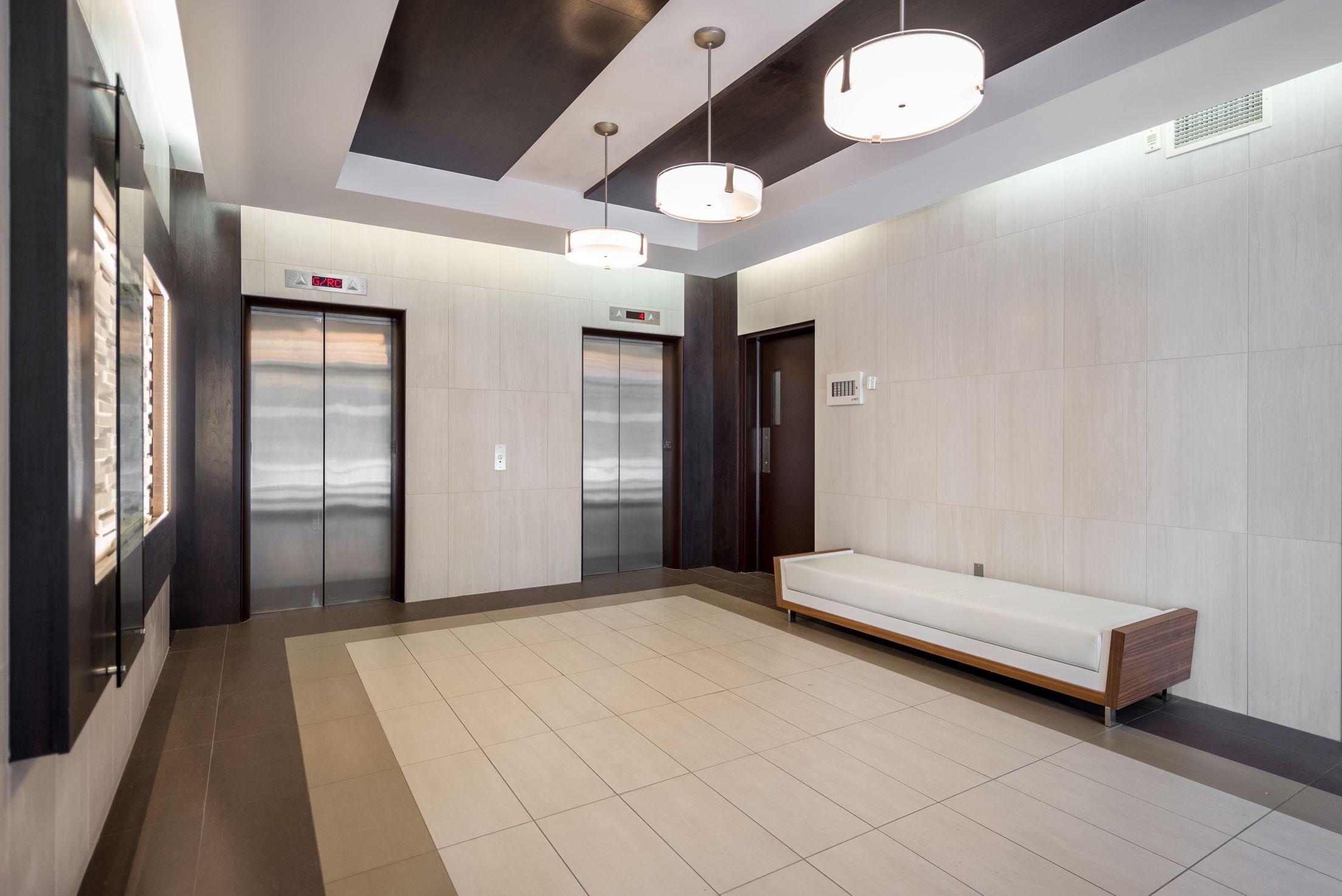 55 Metcalfe Street  Elevator Area - Lift Hotel -