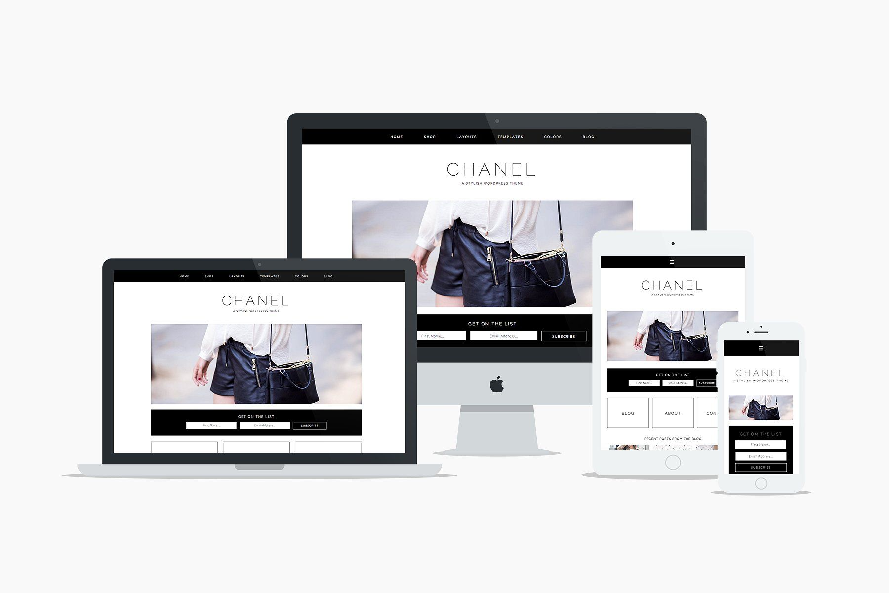 Chanel WP Theme by 17th Avenue Designs