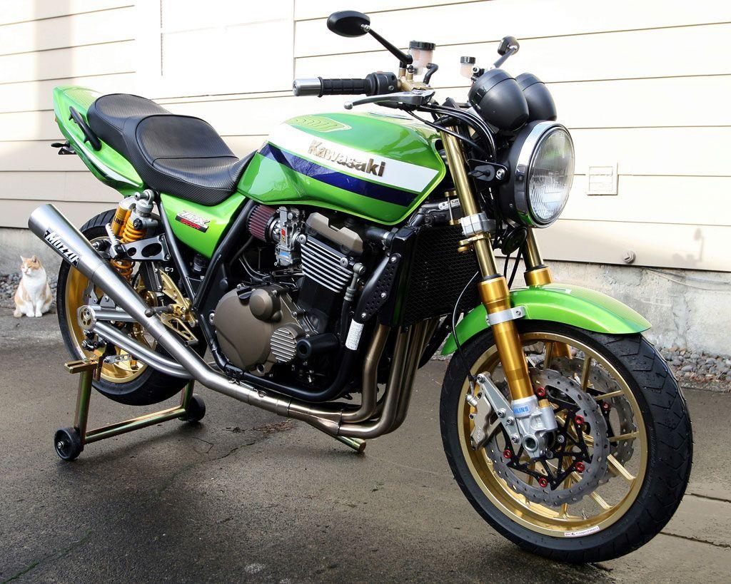 Kawasaki ZRX 1200. A beast.