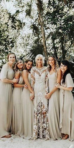 Sparkly Bohemian Rue De Seine Wedding Dresses #civilweddingdresses